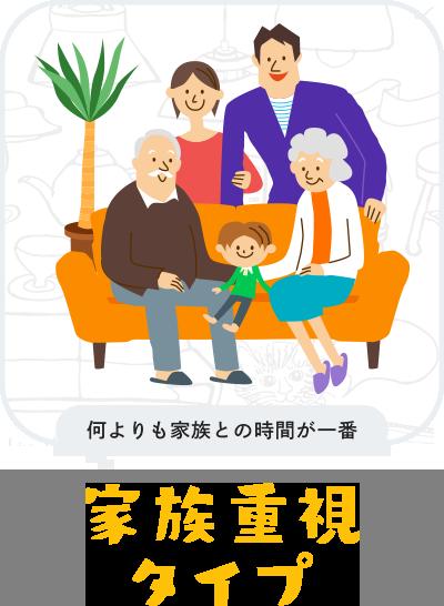 家族重視タイプ