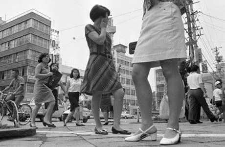 昭和42年、ミニスカートブーム