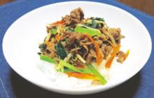 画像:野菜たっぷり かんたんビビンバ