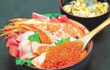 画像:ぜいたくな海の幸を味わう1000円ランチ
