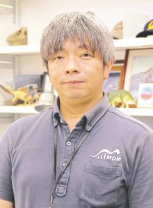 御船町恐竜博物館 主任学芸員、博士(理学) 池上直樹さん