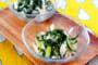 鶏むね肉と大葉のサラダ