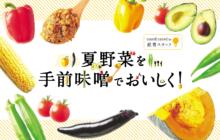 画像:【376号】「夏野菜を手前味噌でおいしく!」