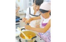 画像:田崎市場で「料理教室」を開催