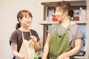 田中真未さん(左)本田智巳さん(右)
