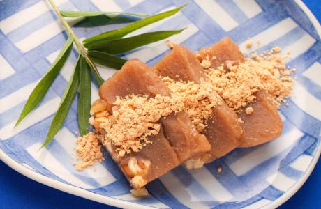 豆腐くるみ餅