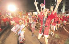 画像:熊本地震復興祈願 八代くま川祭り