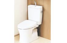 画像:TOTOのトイレ8万3000円(税別)~、シャワーなど2万4980円(税別)