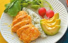 画像:美味しいレシピ vol.195 – レモンチキンのボウル