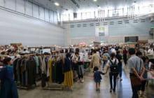 画像:くまにちすぱいす「カントリー&クラフトフェア2017秋」が1日(金)から益城町のグランメッセ熊本で始まりました。
