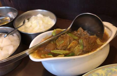 ビーフと野菜のカレー