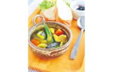 画像:おうちでCOOK – ナスとチキンのカレースープ