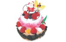 画像:聖夜を彩る10種類のクリスマスケーキ