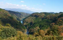 画像:まもなく紅葉~山都ドライブ