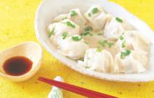 画像:おうちでCOOK – お皿の上でパパッと包み、レンジで楽チン! キノコたっぷり逆さまシュウマイ