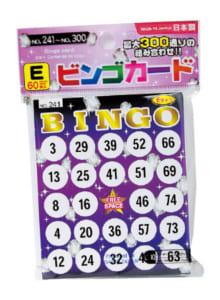 ビンゴカード/108円