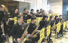 画像:タマナスィングオーケストラ ミニコンサート