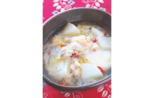 画像:おうちでCOOK – 手羽元のサムゲタン風スープ