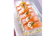 画像:おうちでCOOK – スモークサーモンの押し寿司