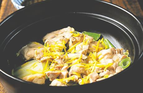 冬野菜と鶏肉の酒蒸し