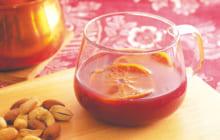 画像:【ホットワイン】飲み過ぎに注意!? すっきり甘いカシスオレンジ風