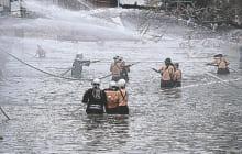画像:南関町消防出初式
