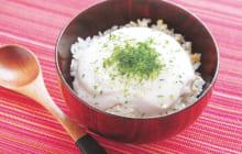 画像:おうちでCOOK – 懐かしい味わい サトイモのとろろ飯