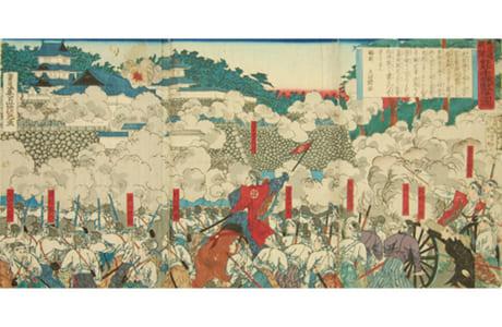 熊本城戦争の図