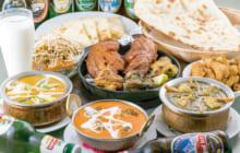 画像:楽しみ方いろいろの創作インド料理 3店共通のお得なクーポンにも注目 !