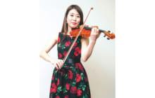 画像:【406号】すてきびと – ジプシージャズバンド 「ラパン・ド・ノワール」 バイオリン奏者 野田 沙織さん
