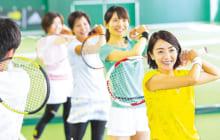 """画像:""""手ぶらでテニス"""" 春得10大特典+3大保証は1980円で受け付けスタート"""