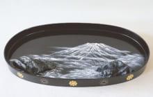 画像:「細川流盆石展」明治150年 大御歌 名所探訪