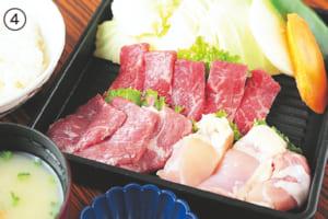 焼肉「恵」セット 1058円