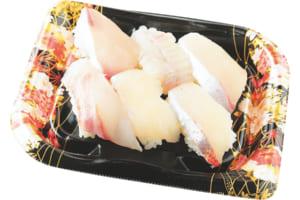 地魚寿司 6貫480円