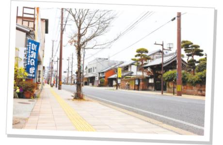 風情ある川尻・旧薩摩街道沿い