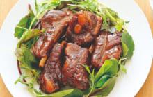 画像:美味しいレシピ vol.208 – 豚スペアリブの赤ワイン煮