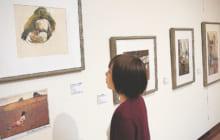 画像:【415号】カルチャールーム – 「アンドリュー・ワイエス 水彩画・素描展」 熊本市現代美術館