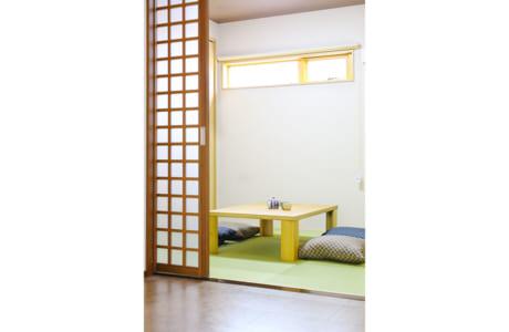 客間としても使える和室がLDKに併設されています