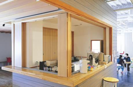 施設内のキッチンは自由に利用できます