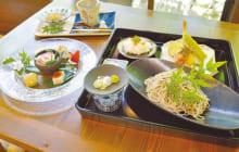 画像:十割生蕎麦(そば)紅葉