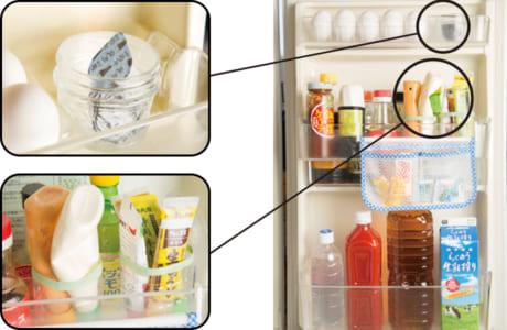 ペットボトルの容器は、使いやすい大きさにカットしてチューブ類入れに
