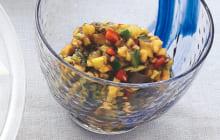画像:美味しいレシピ 特別編 – 夏野菜の昆布あえ