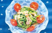 画像:おうちでCOOK – ひんやり冷たい夏の副菜 ゴーヤーとベーコンのマリネ