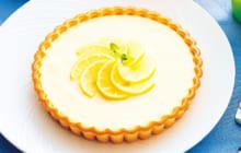 画像:美味しいレシピ 特別編 – レモンチーズタルト