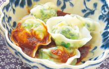画像:美味しいレシピ 特別編 – エビの茹で餃子