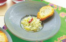 画像:美味しいレシピ 特別編 – シラスのオイル煮