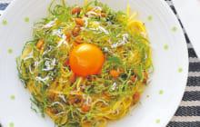 画像:美味しいレシピ 特別編 – 納豆じゃこパスタ