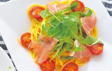 画像:美味しいレシピ 特別編 – 生ハムとトマトのパスタ