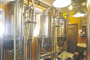 ビールは醸造所で約1カ月熟成して完成させるそう