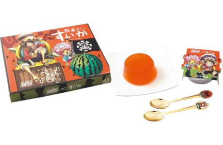 「熊本すいかぜりぃ」 映画「ワンピース スタンピード」 コラボパッケージ
